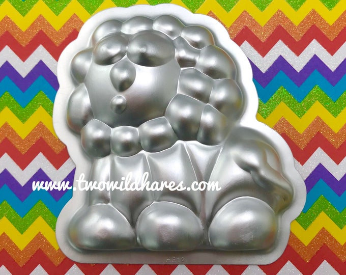 ZOO LION Bath Bomb Mold, Metal, Kids Animal Bombs, Two Wild Hares