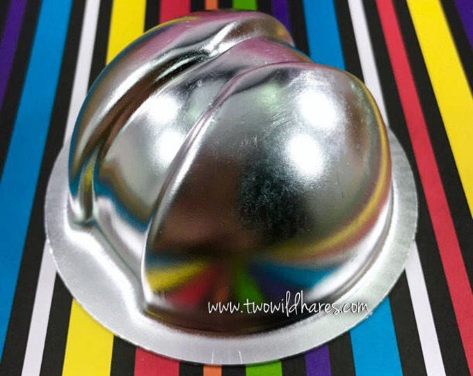 "80's ARCADE Bath Bomb & Baking Mold, Metal, 2 3/4"", DIY Bath Bomb, Two Wild Hares"