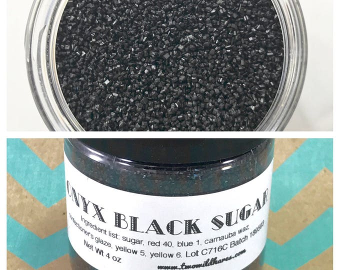 ONYX BLACK SUGAR, 4oz
