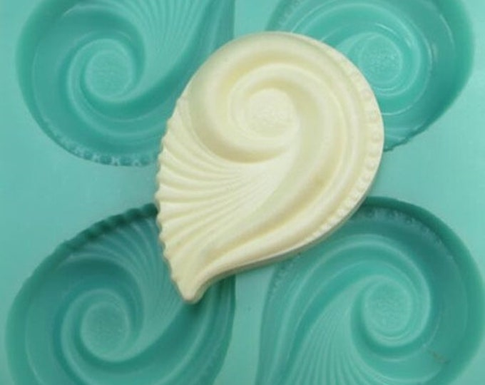 TSUNAMI Silicone Soap Mold, Heavy Duty, Four 3oz Cavities (12oz total), Two Wild Hares