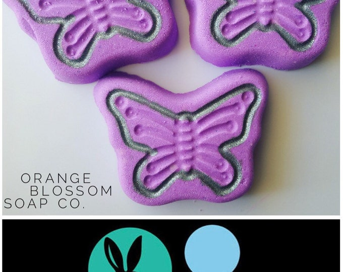 "BUTTERFLY Bath Bomb & Baking Mold, Metal, 4""x2.5"", Two Wild Hares"