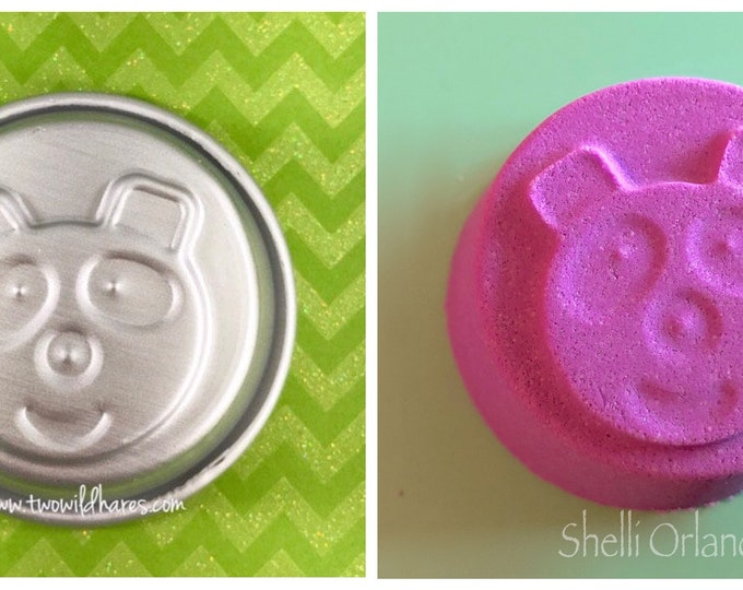 "HAPPY PANDA Bath Bomb & Baking Mold, 2.75"" Metal, 3.5-3.75 oz Bath Bomb, Two Wild Hares"