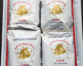 3.5 LBS TAPIOCA Starch, 4-14oz Bags, Two Wild Hares