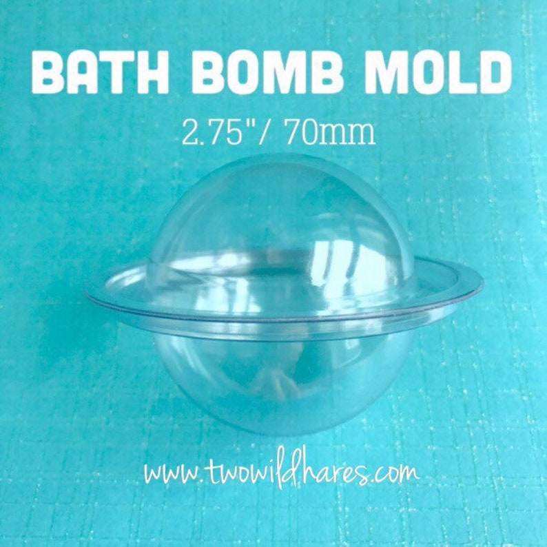 10  2.75 BATH BOMB Molds MEDIUM 70mm Dry Bombs In image 0