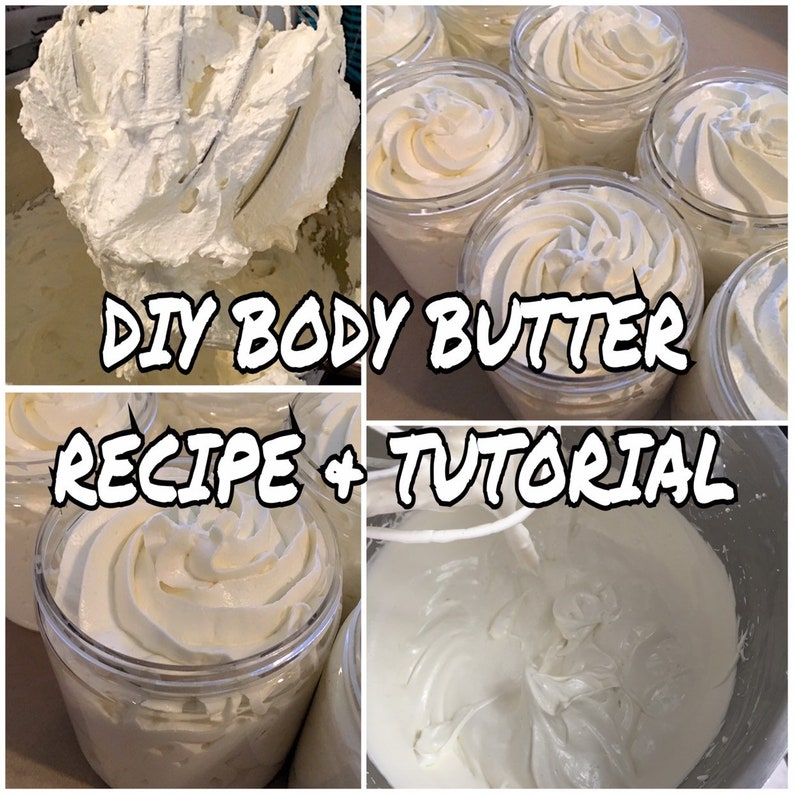 DIY Whipped BODY BUTTER Recipe & Step by Step Picture image 0