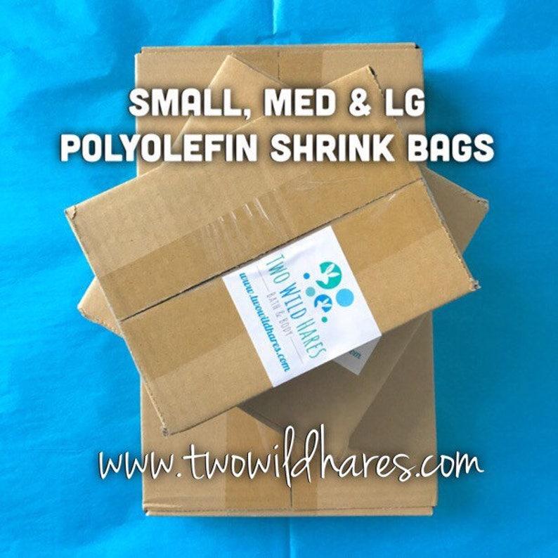 1500 POLYOLEFIN Bag Set Small/Med/Large 500 ea size Smell image 0