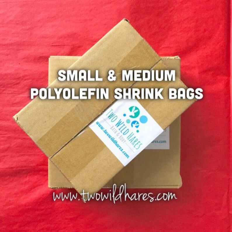 POLYOLEFIN Bag Set Small & Med Free US Ship 4x6 image 0