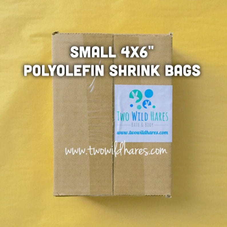 500-SM 4x6 POLYOLEFIN Shrink Bags Free Us Ship Smell image 0