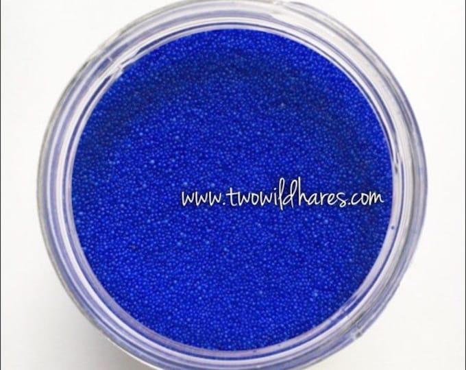 JOJOBA BEADS BLUE Electric, 20/40 Exfoliant Safe Alternative to Microbeads for Bath Products