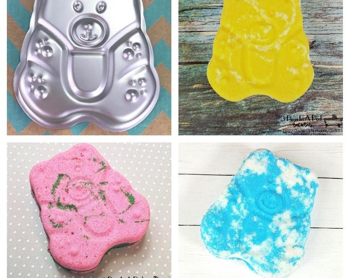 "GUMMY BEAR Bath Bomb & Baking Mold, 3 1/2"", Makes About 5oz Bomb, Kid Mold, Two Wild Hares"