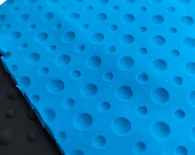 "POLKA DOTS Impression Texture Mold Mat, 9.5""x7"", Silicone, Soap, Bubble Bar, Fimo, DIY Soap, Free Usa Ship, Two Wild Hares"
