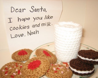Christmas Cookies / Santa Clause is coming to town - Photo Props