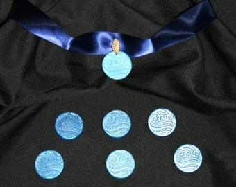 Katara's Necklace - Water Nation - Avatar the Last Airbender Cosplay Choker - Collar