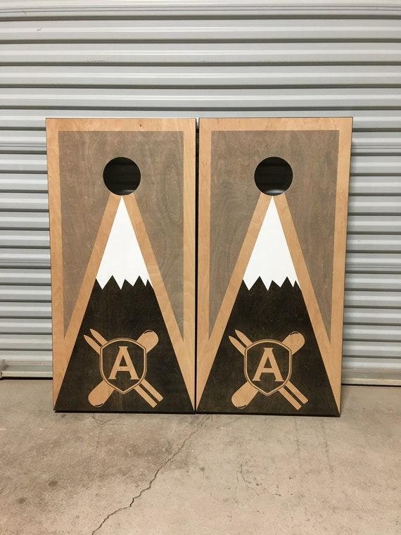 Custom Monument Vally Graphic Cornhole Boards