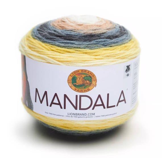 Lion Brand Mandala Garn Schlange 150 G Dk Licht Kammgarn Etsy