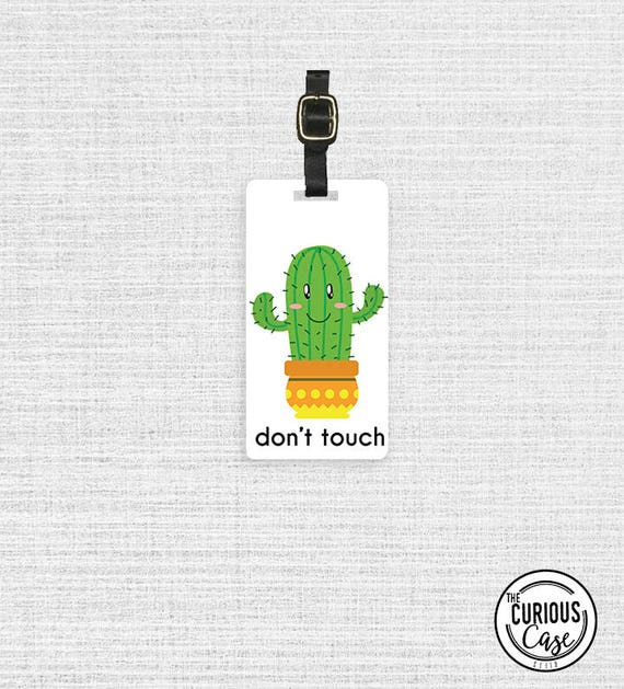 2 Pack Luggage Tags Cactus Cacti Cruise Luggage Tag For Travel Tags Accessories
