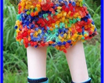 Pom Pom Mini Skirt for Blythe and Tangkou