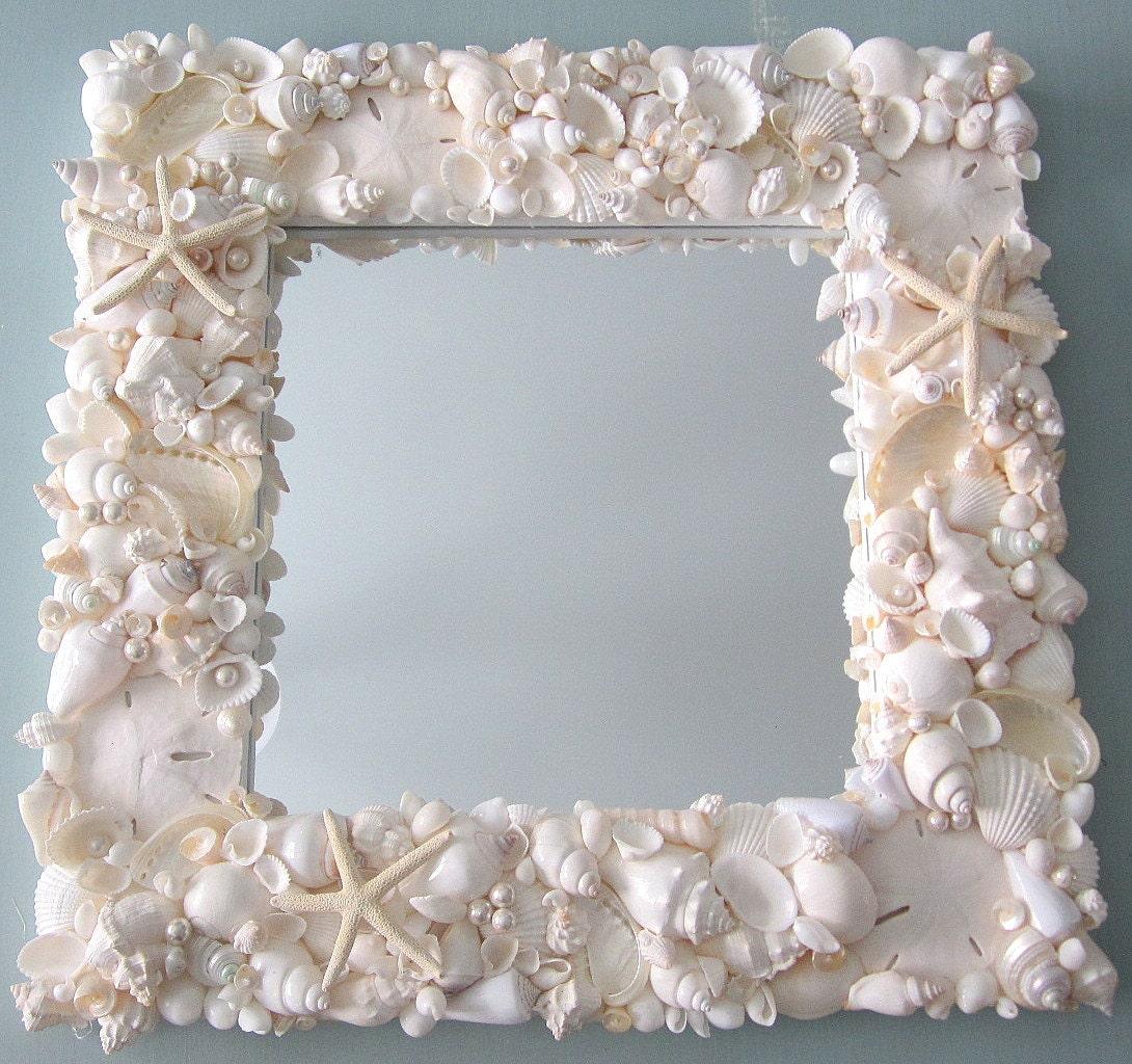 еще декор зеркала ракушками фото загружайте графику торт