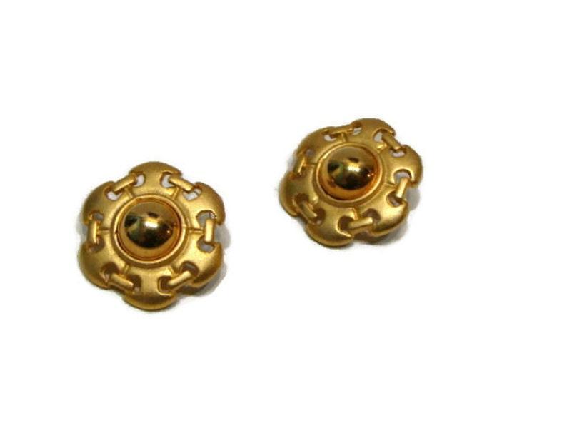 f43f7c93f18e6 Vintage Gold Pierced Earrings Gold Earrings For Women Circle Earrings For  Women Vintage Pierced Earrings Simple Gold Earrings