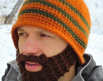 b9436b08d2b custom beard hat - beard beanie - crochet hat with beard - custom made hat  with beard The Original Beard Beanie™ CUSTOM Color