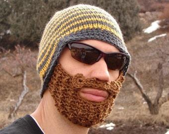 crochet beard beanie 8bf77107832