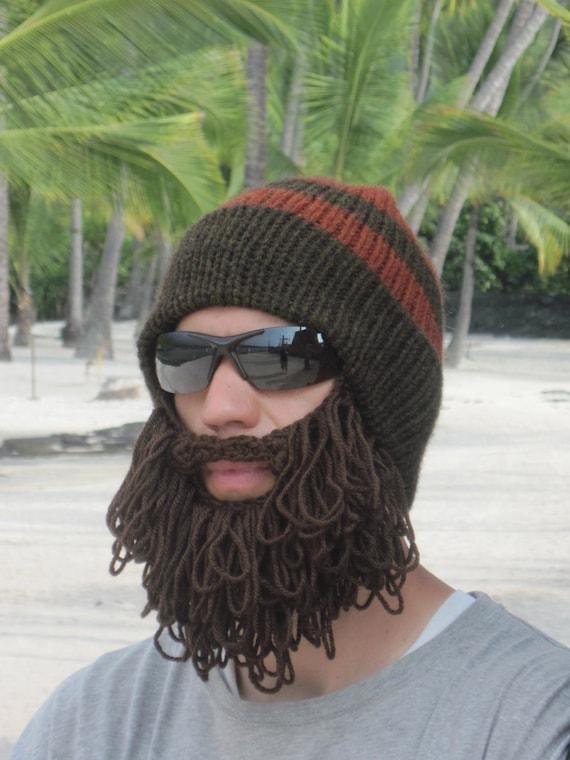 Haak Baard Hat Ruige Baard Muts The Original Beard Beanie In Etsy