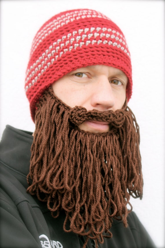 langen Bart Hut häkeln Mens Haube The Original Bart Beanie ™ | Etsy