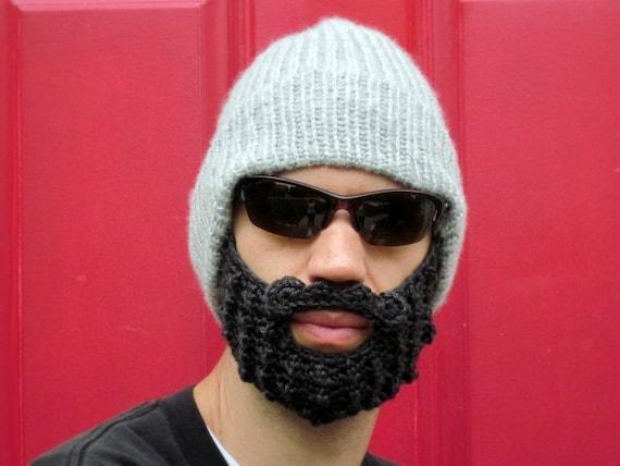 chapeau bonnet barbe au crochet cap moustache The Original   Etsy b9f313821be