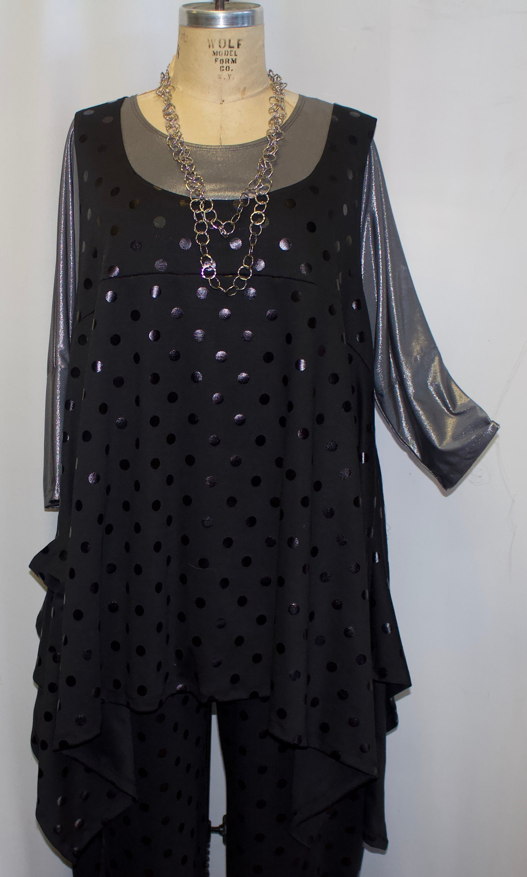 98a88e8520bd2 Plus Size Top Lagenlook. Layering Top Plus Size Tunic Top