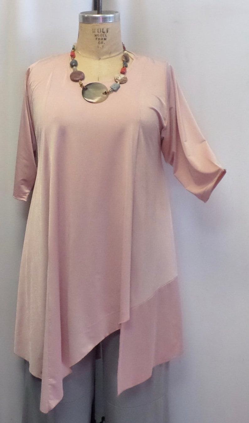 49d8088faf1 Women Clothing Missy Plus Size Tunic Top Coco and Juan | Etsy