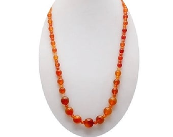 Red Agate Necklace ,  Natural Red Agate Gemstones  , Gift For her