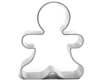 Ginger Bread Man Cookie Cutter , 2 1/2 Inches
