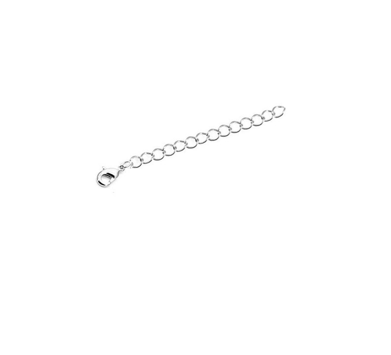 Silver Extender Chain Jewelry Connector Bracelet /& Necklace Accessory