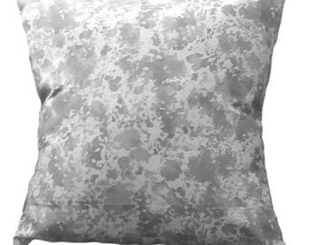 Gray Outdoor Pillow Cover, 18X18  pillow cover, home decor throw pillow cover, Indoor/ Outdoor pillow cover