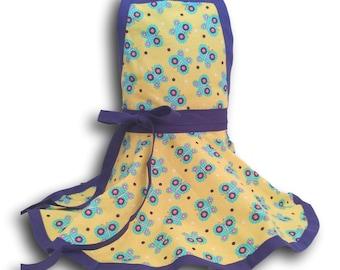 Kids apron, Personalized Girls Apron, Pretend Play Kitchen apron, child's  apron, girls apron