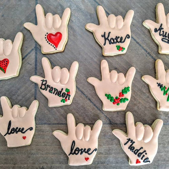 I love You Hand Sign Language Cookie Cutter 3.5/'/'