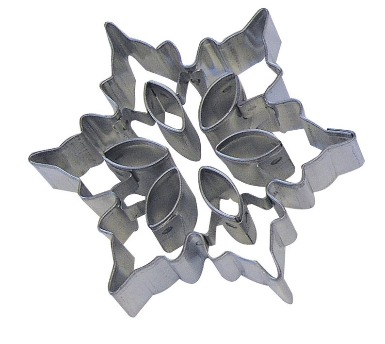 You pick 3 Snowflake Cookie Cutter w insert cutters  cupcake fondant or pie top cutter Christmas Cookie Cutter cake