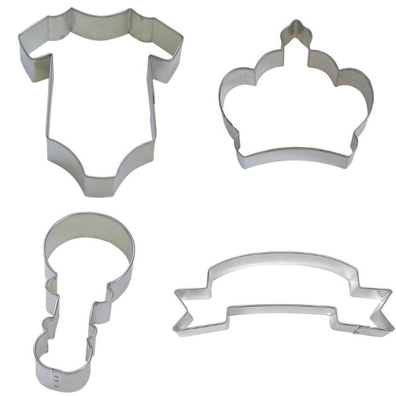 Baby One Piece Metal Cookie Cutter New