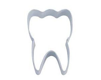 Tooth Cookie Cutter Dental Dentist 3.25""