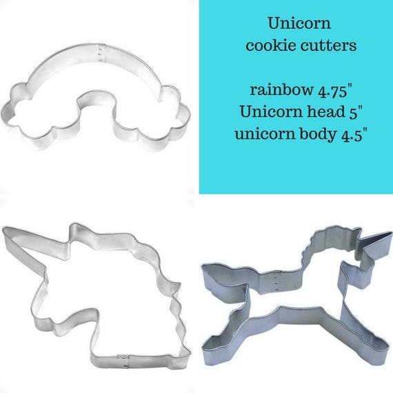 """Unicorn Cookie Cutter 4.5/"""" Magical Princess Horse"""