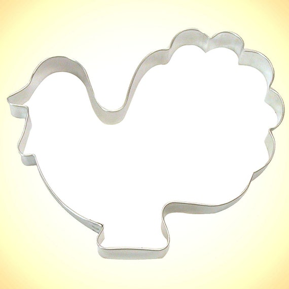 Large Turkey Cookie Cutter 5 5 Thanksgiving Pyo Paint Etsy