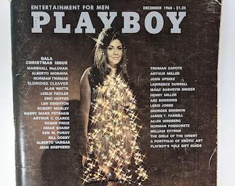 December 1968 Playboy Magazine, GALA CHRISTMAS ISSUE, Cynthia Meyers Cover Centerfold