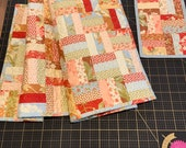 Table Runner Table Topper RailRoad ties Quilt for Sale