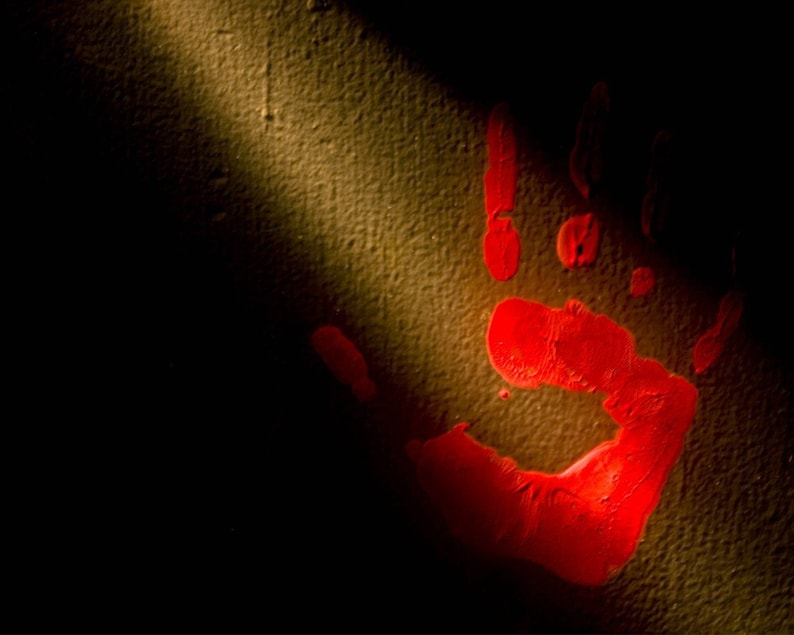 Photograph Haunting Abstract Dramatic Bold Fine Art Cherry image 0