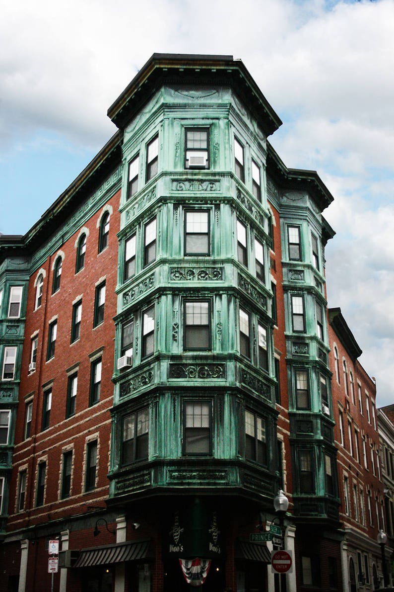 Photograph Boston Historic North End Little Italy Neighborhood image 0