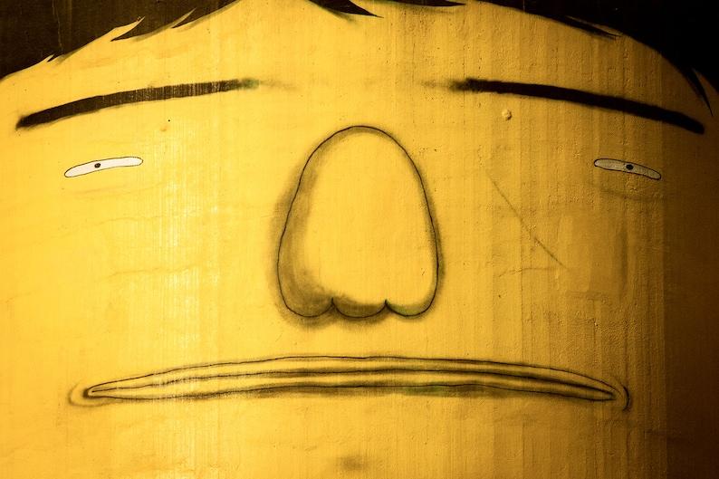 Photograph Vancouver Granville Island Urban Street Art Yellow image 0