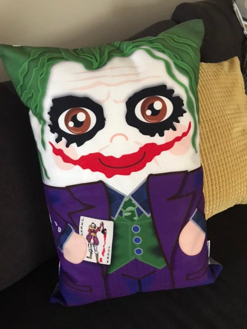 Heath Joker 'Hero Hugger' Decorative Pillowcase Custom image 0