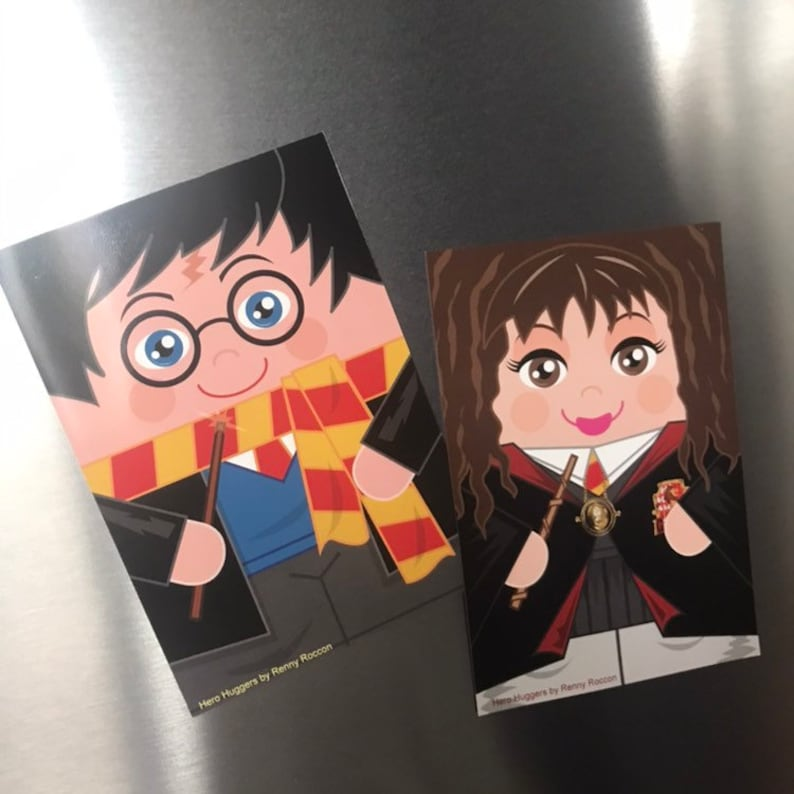 Harry Potter and Hermione 'Hero Hugger' Large Glossy image 0