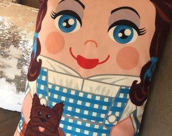 Dorothy 'Hero Hugger' Decorative Pillowcase Custom Design wizard of oz!