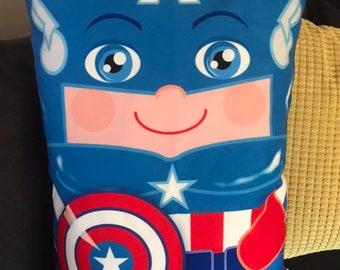 Captain America 'Hero Hugger' Decorative Pillowcase Custom Design Super Hero